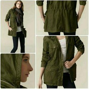 Vince Cotton Army Green Utility Jacket size XS